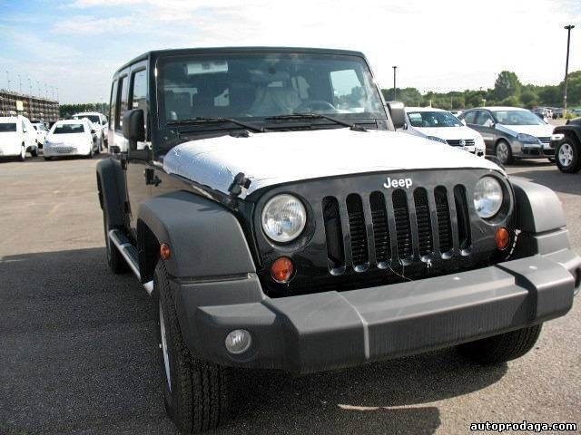 Новый 2009 JEEP WRANGLER UNLIMITED X 4-Door 4X4