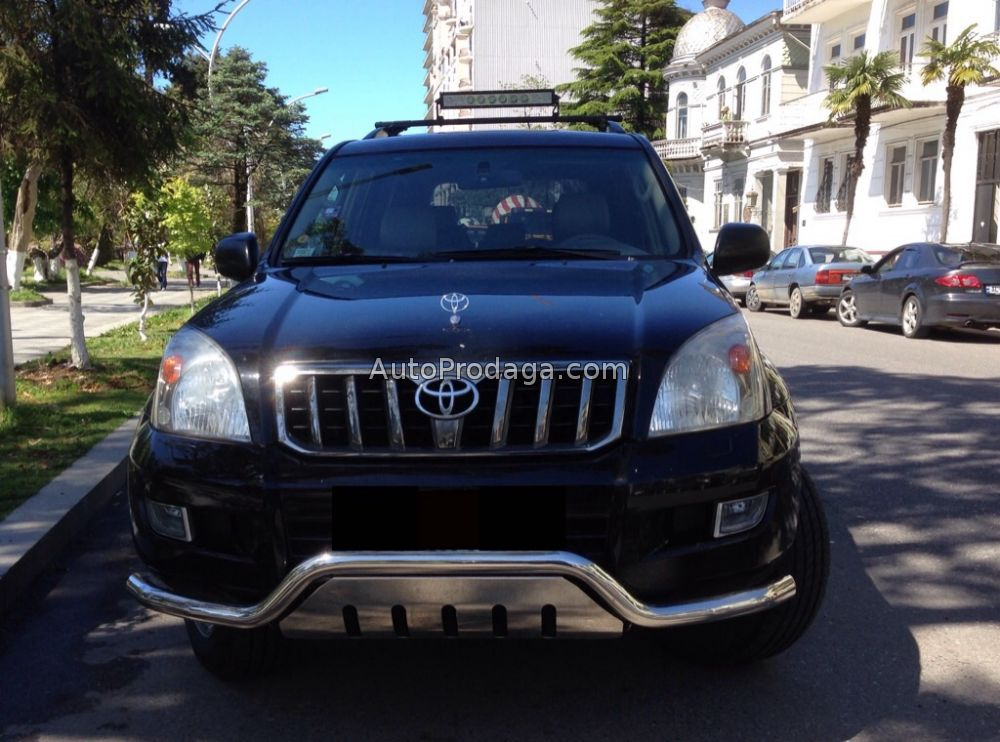 Прокат Toyota Land Cruiser Prado в Грузии