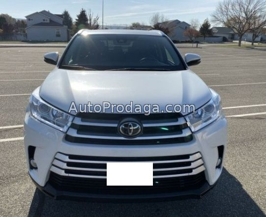 2018 Toyota Highlander XLE V6 AWD for sell