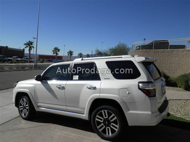 Фото 1: 2016 Toyota 4Runner Limited white for sell