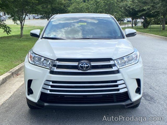 Toyota: Toyota Highlander 2018 model